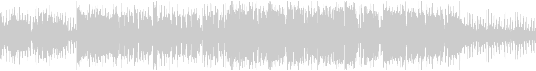キラキラ音+生演奏クラリネット※ループ版の未再生の波形