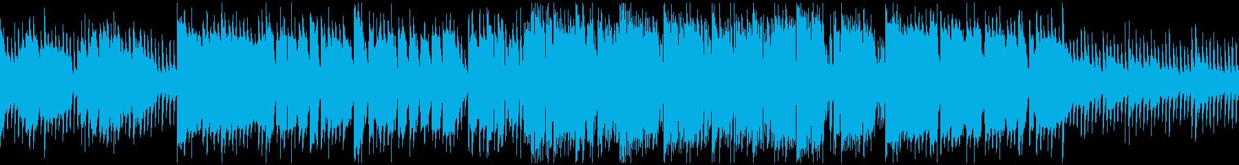 キラキラ音+生演奏クラリネット※ループ版の再生済みの波形
