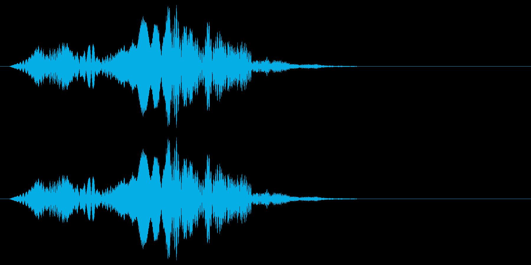 幽霊達の調律の再生済みの波形