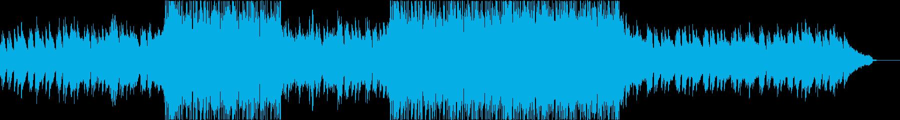 壮大で不穏な弦楽器シネマティックポップの再生済みの波形