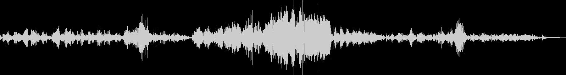 ショパン 別れの曲 Op10 No3の未再生の波形