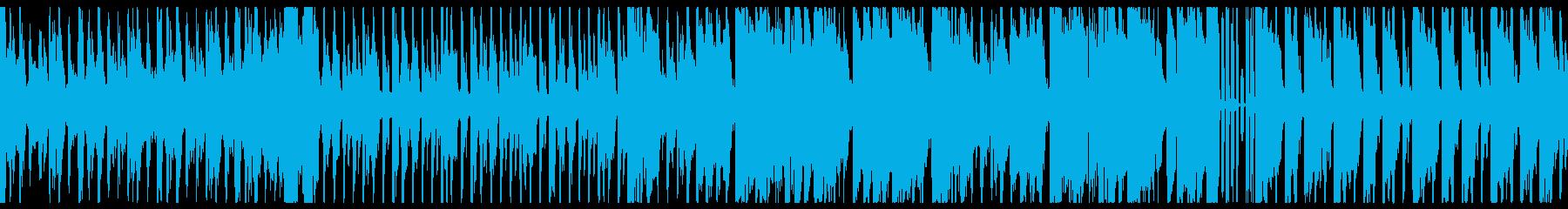 【ループ仕様】楽しげなRPGバトルBGMの再生済みの波形
