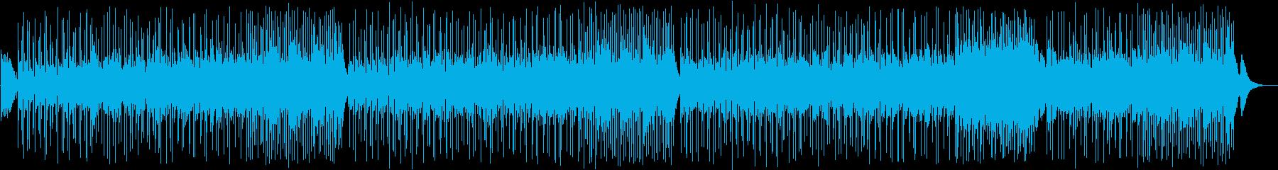 インディーズクリスマスソングの再生済みの波形