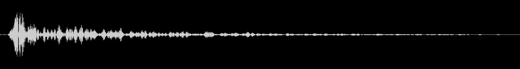 インパクトスリンキーサブクワッドUの未再生の波形