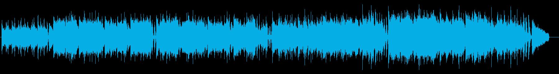 自然を感じるほのぼのとしたゆるいBGMの再生済みの波形
