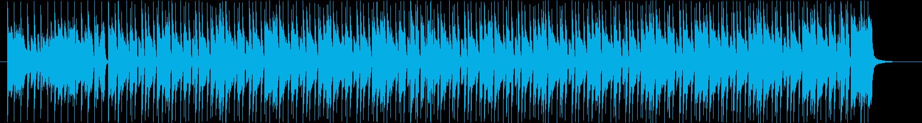 シンプルでかっこいいピアノポップスの再生済みの波形
