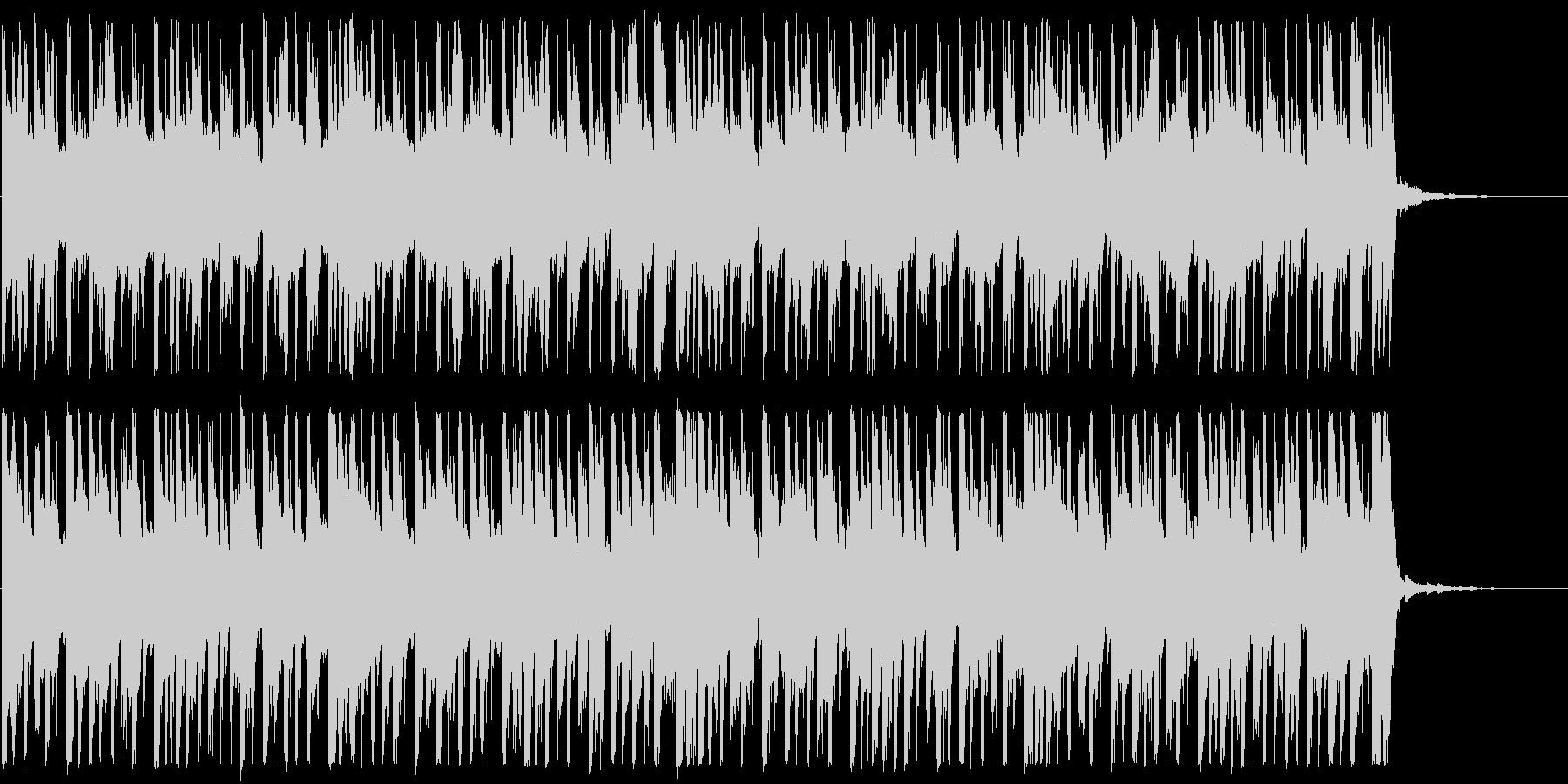 前向き/明るい/ハウス_No475_5の未再生の波形