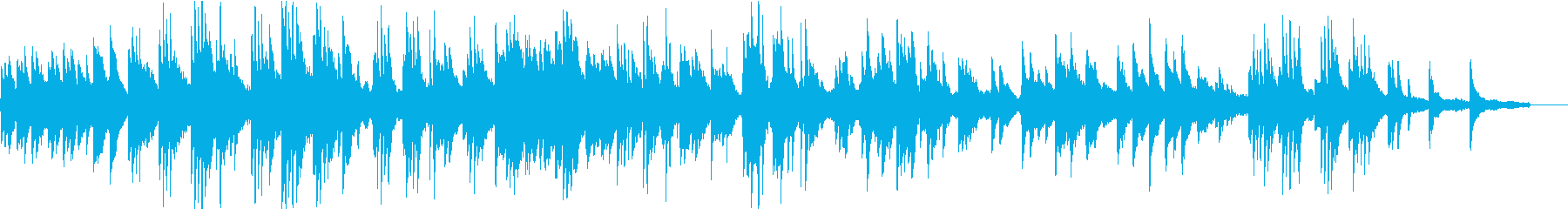 ヒーリングピアノ組曲 まどろみ 12の再生済みの波形