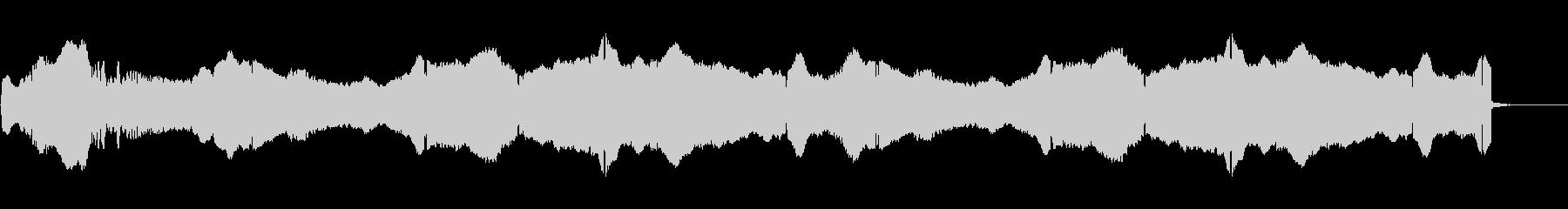 救急車のサイレン:内線:スローウェ...の未再生の波形