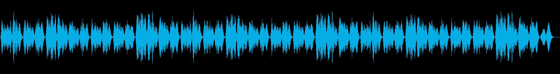 船が沈没する映画で使用された讃美歌320の再生済みの波形