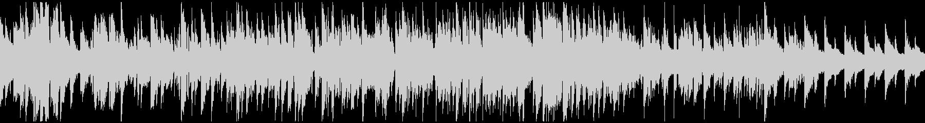ジャズ・ワルツ、軽快な高揚感 ※ループ版の未再生の波形