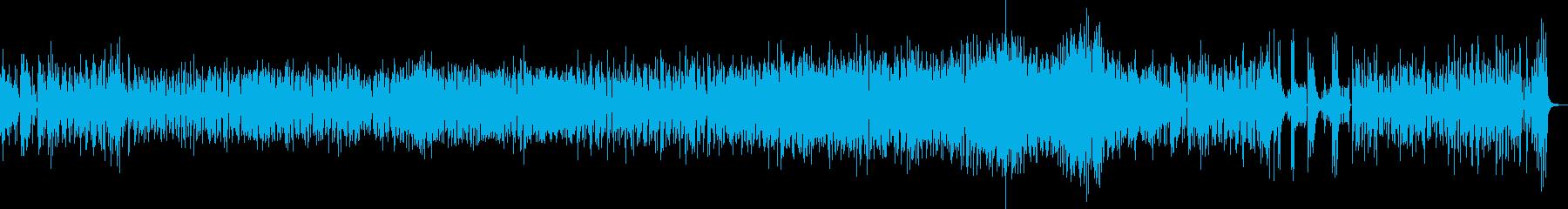 陽気で粋なラテンポップジャズの再生済みの波形