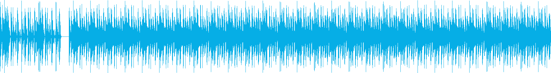 POPな雰囲気と都会的な最先端テクノの再生済みの波形