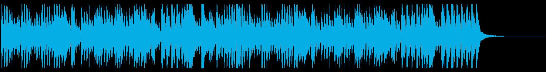 カートゥーンっぽいのんの再生済みの波形