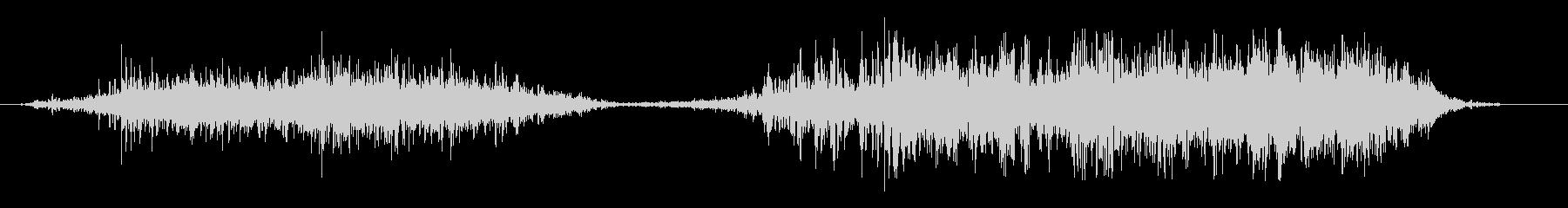 ドドドドドゴゴゴゴゴ(土系の音)の未再生の波形