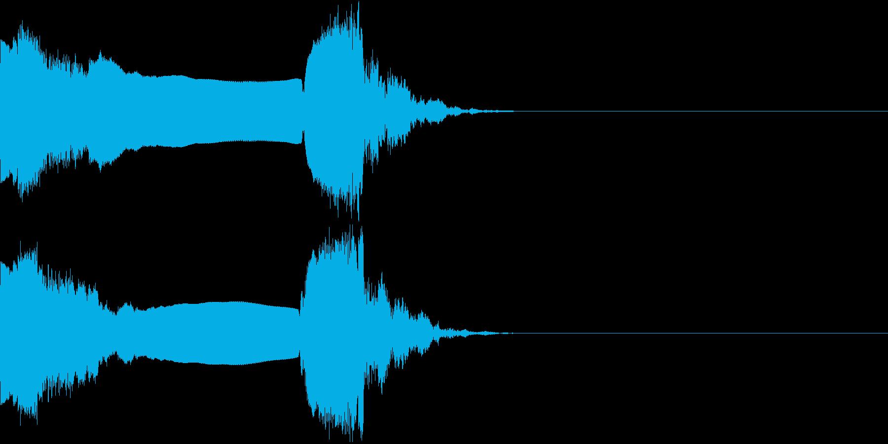 キュイン キーン シャキーン 光る 17の再生済みの波形