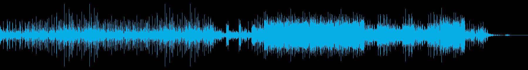 ダウンビートなエクスペリメンタルロックの再生済みの波形