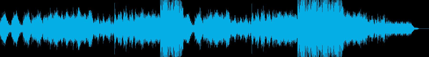 生命力・息吹のあるアンビエントの再生済みの波形
