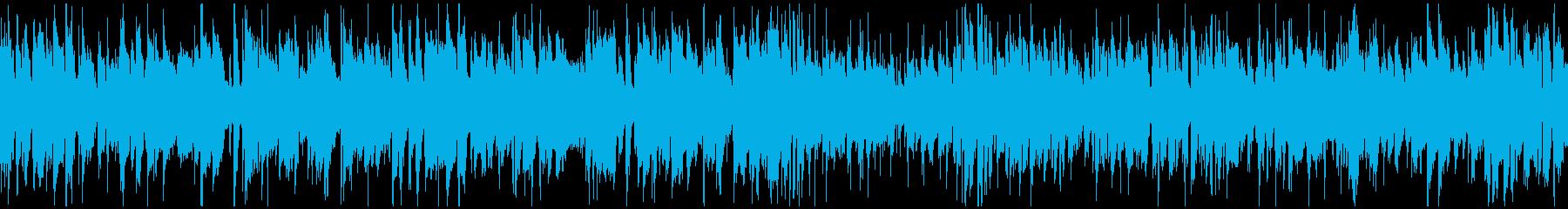 バラエティ、カジノ系のジャズ ※ループ版の再生済みの波形