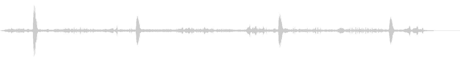 ヌークローズ-バードソング1の未再生の波形
