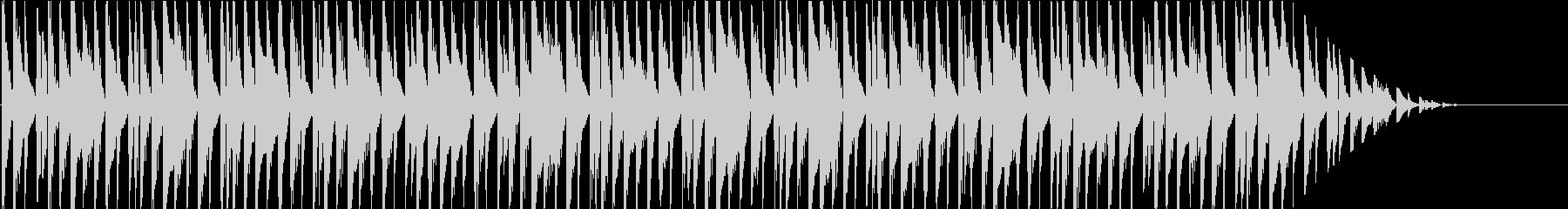 ルンルン♪シンプルで明るいBGMの未再生の波形