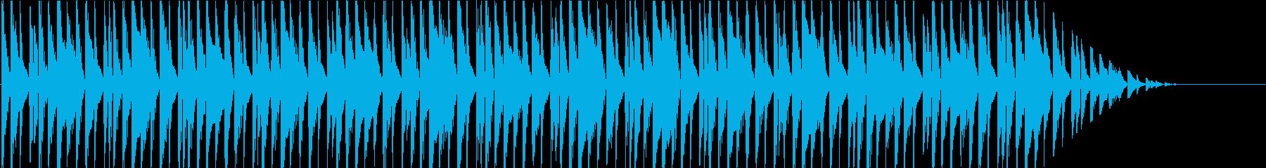 ルンルン♪シンプルで明るいBGMの再生済みの波形