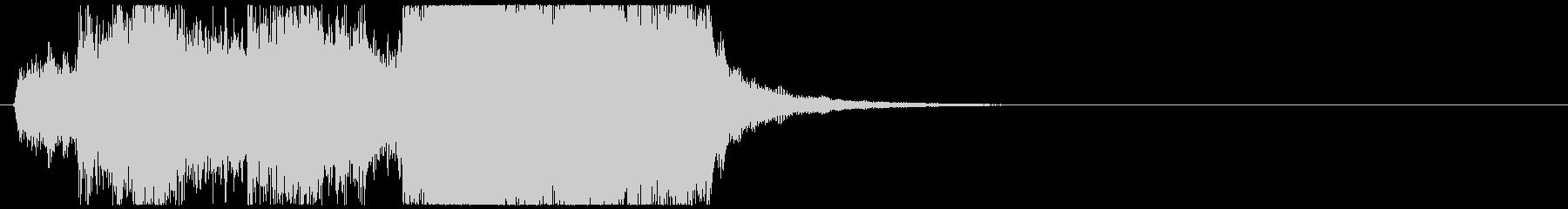 ジングル_ファンファーレ026 金管短めの未再生の波形