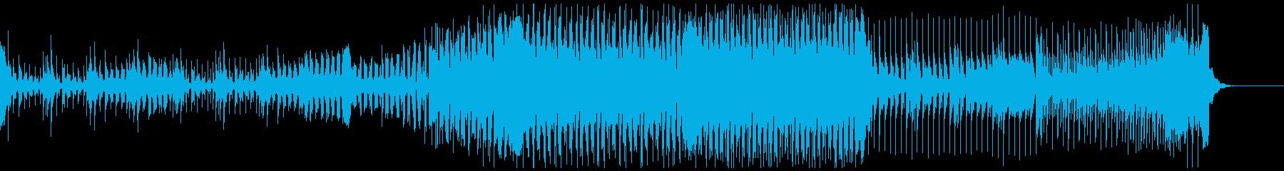 かっこよくて爽やかなEDMの再生済みの波形