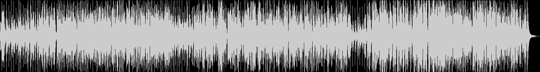 トランペットが印象的なゆったりジャズの未再生の波形