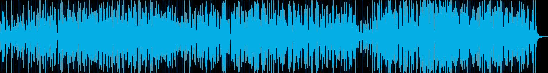 トランペットが印象的なゆったりジャズの再生済みの波形