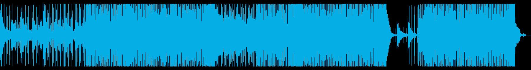 花の景色が似合う暖かなBGM/楽曲の再生済みの波形