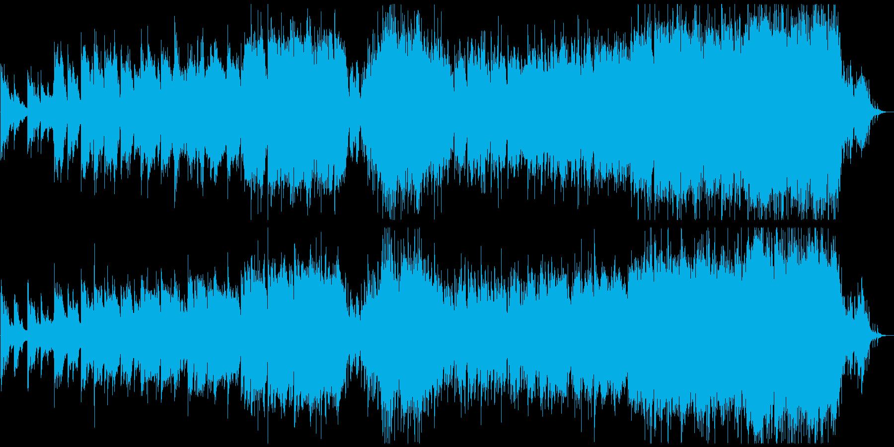 儚い和風のバイオリン 和風バラードの再生済みの波形