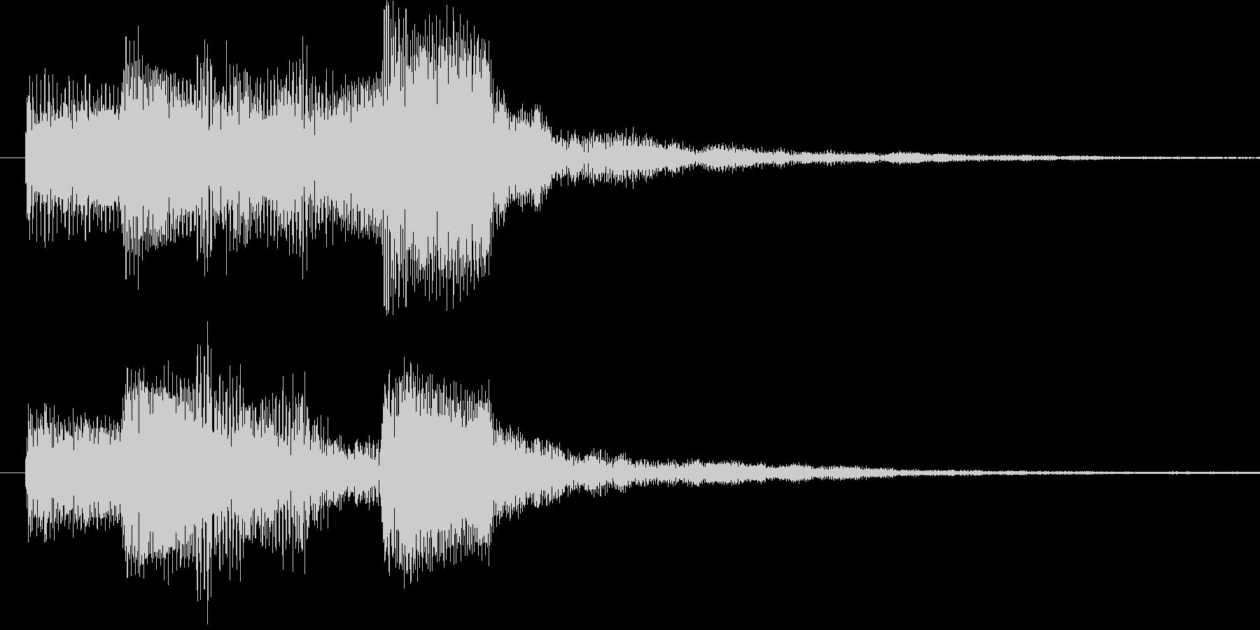 ドゥリリリ 3の未再生の波形