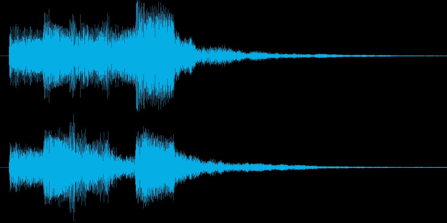 ドゥリリリ 3の再生済みの波形