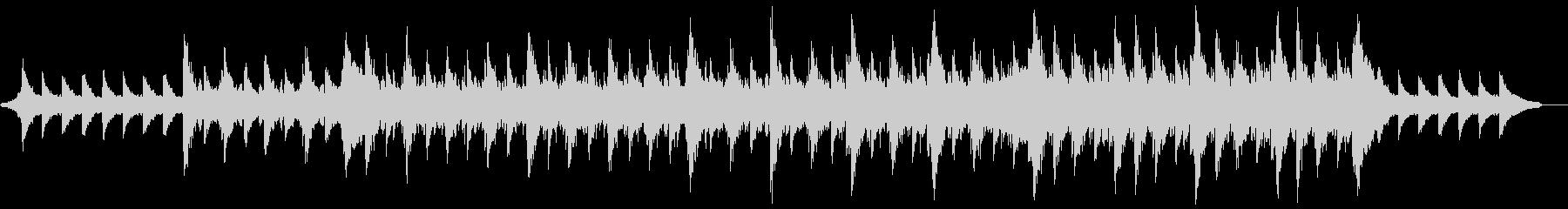 ポジティブポップオーケストラ:ピアノと弦の未再生の波形