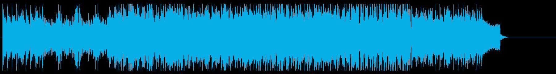 アイリッシュなワールドミュージックの再生済みの波形