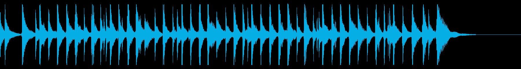 出囃子アレンジの「かごめかごめ」の再生済みの波形