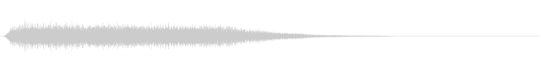 オルガンのゲームオーバー等のサウンドですの未再生の波形