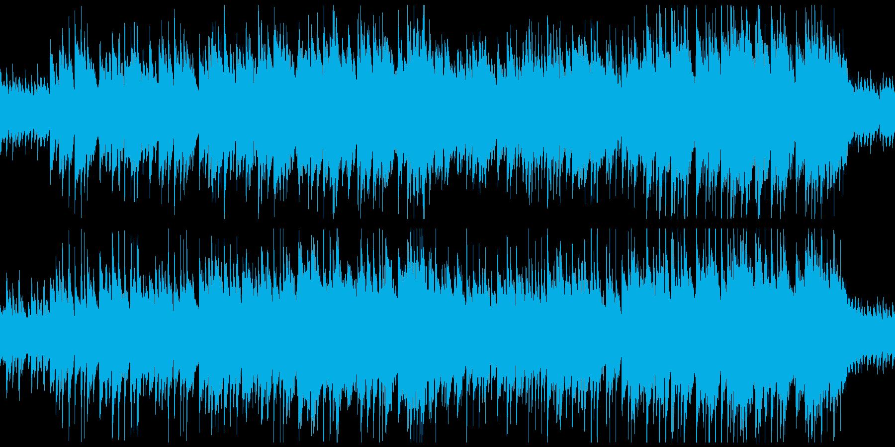 箏・優しい・リラックス・和風BGMの再生済みの波形