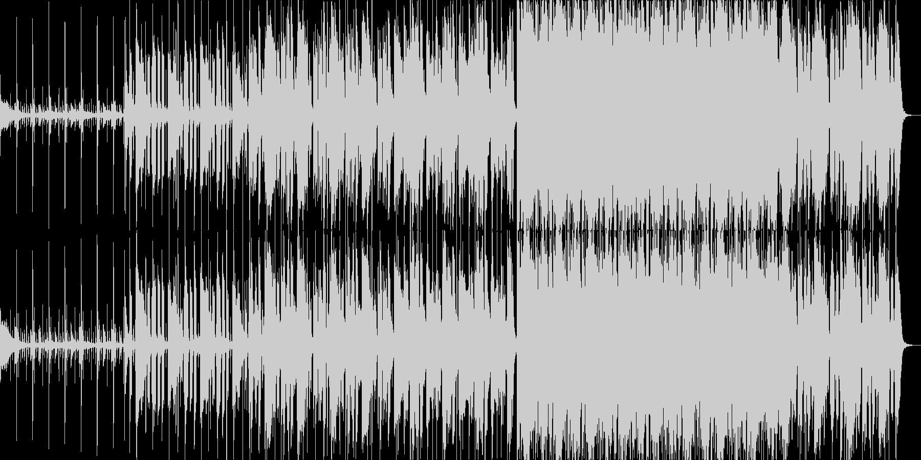 セッション感のあるBGMの未再生の波形