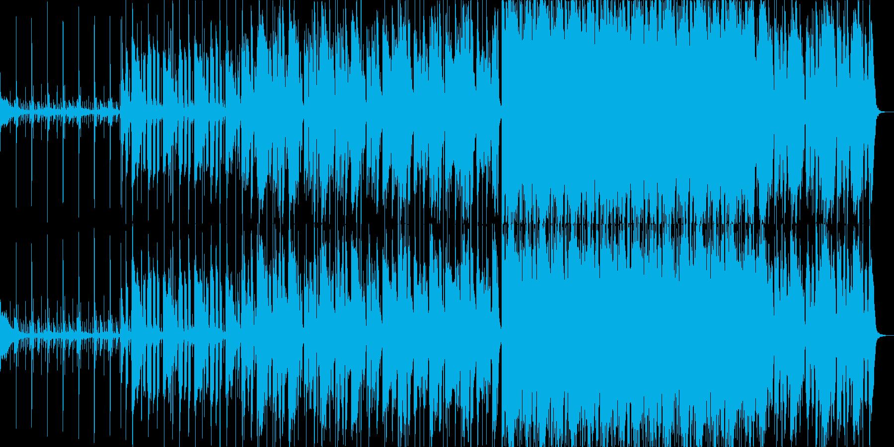 セッション感のあるBGMの再生済みの波形