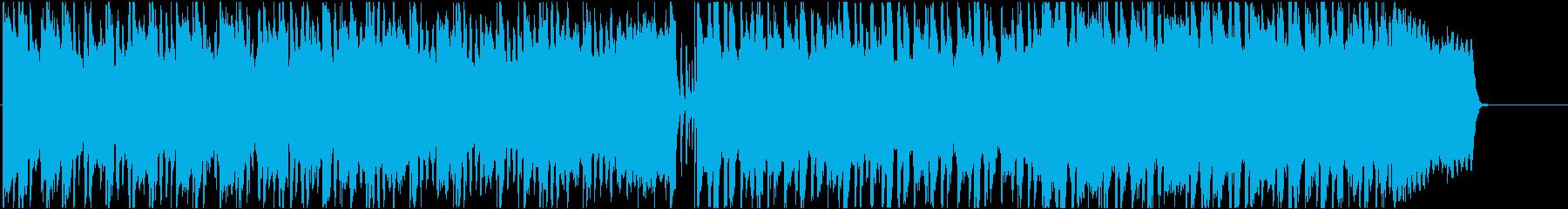 ピアノとフルートの爽やかなBGMです。の再生済みの波形