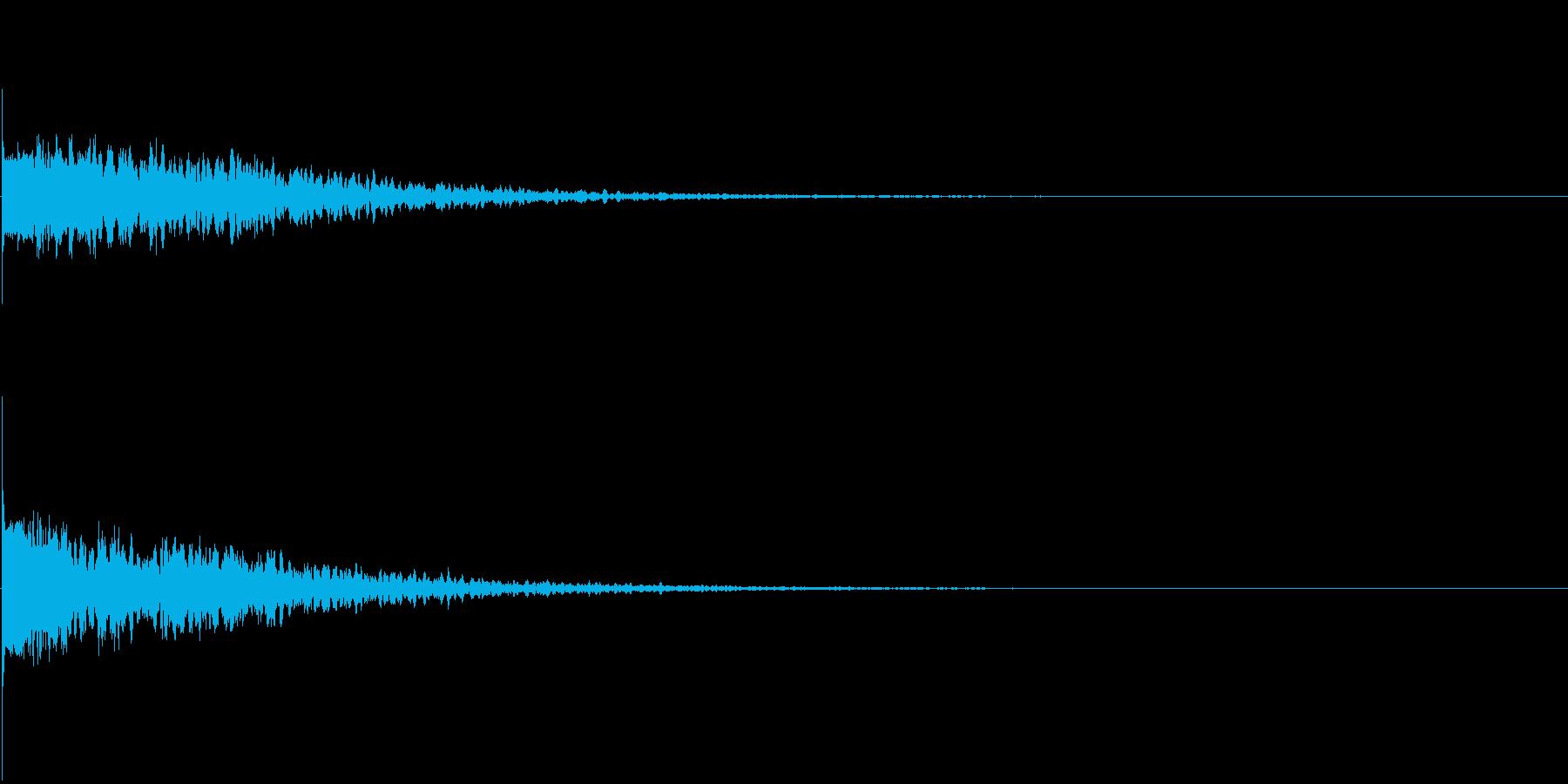 違和感、不穏、不気味な不協和音-C4の再生済みの波形