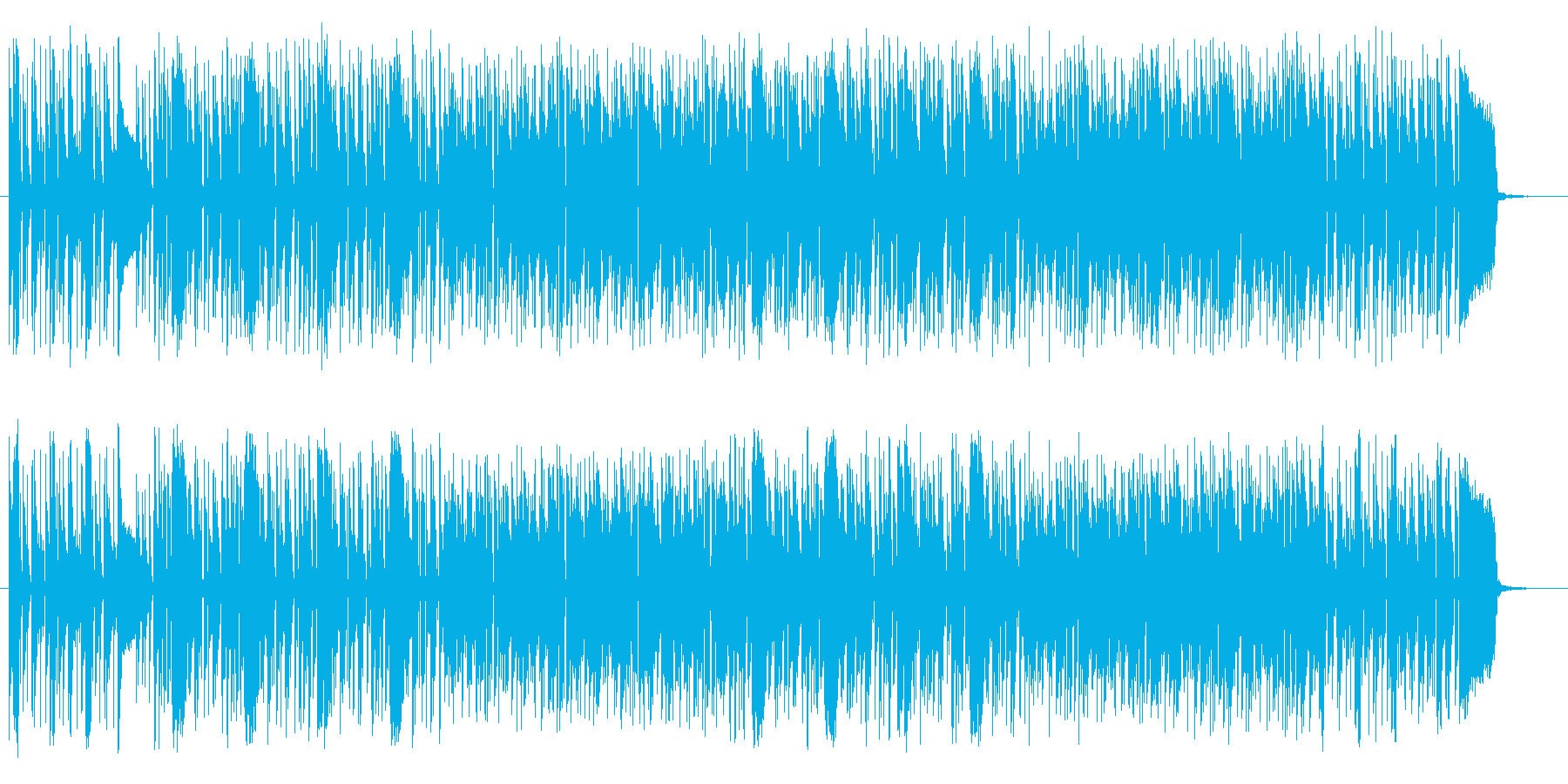 ポップで楽しいトランペットポップスの再生済みの波形