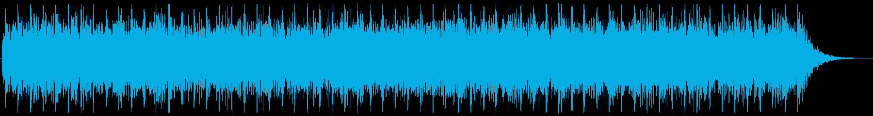 メタルの10秒程のジングル 場面転換の再生済みの波形