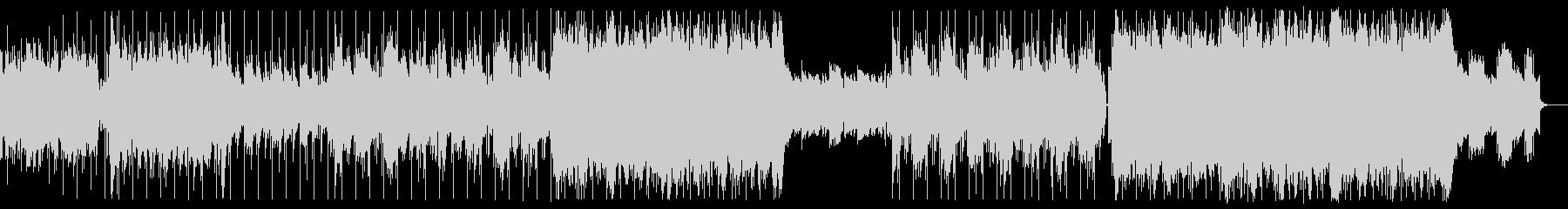 EDMなサウンドが印象的なアップテンポの未再生の波形