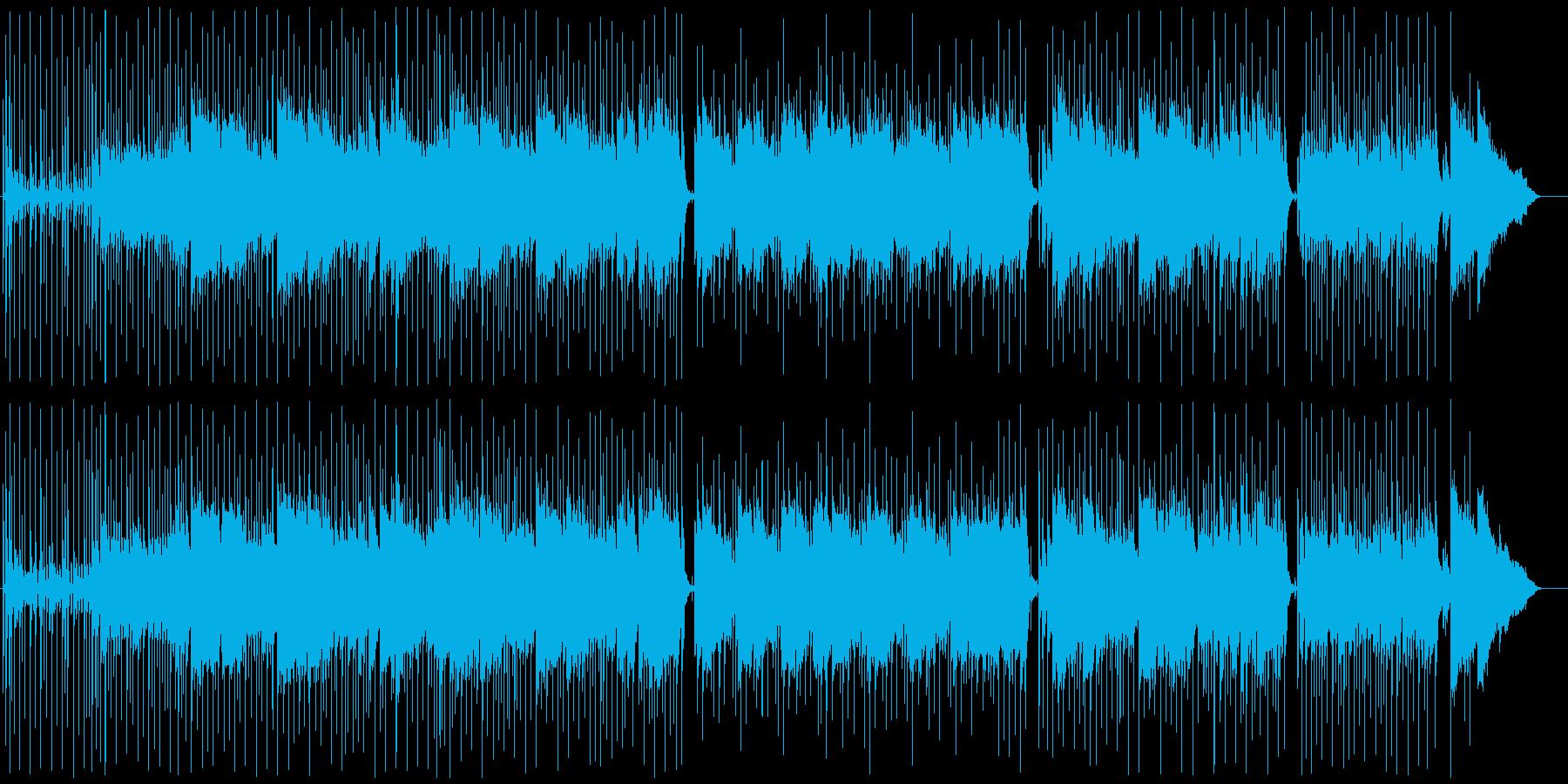 SAXメロのイージーロック、爽やか、故郷の再生済みの波形