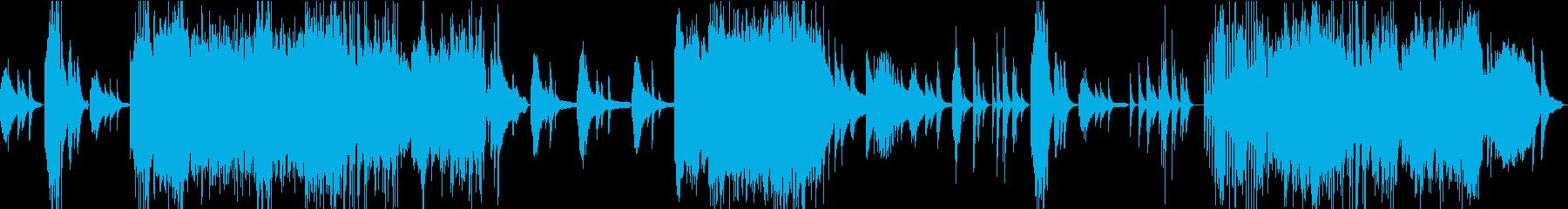 テンペスト第1/ベートーベン・アコギの再生済みの波形