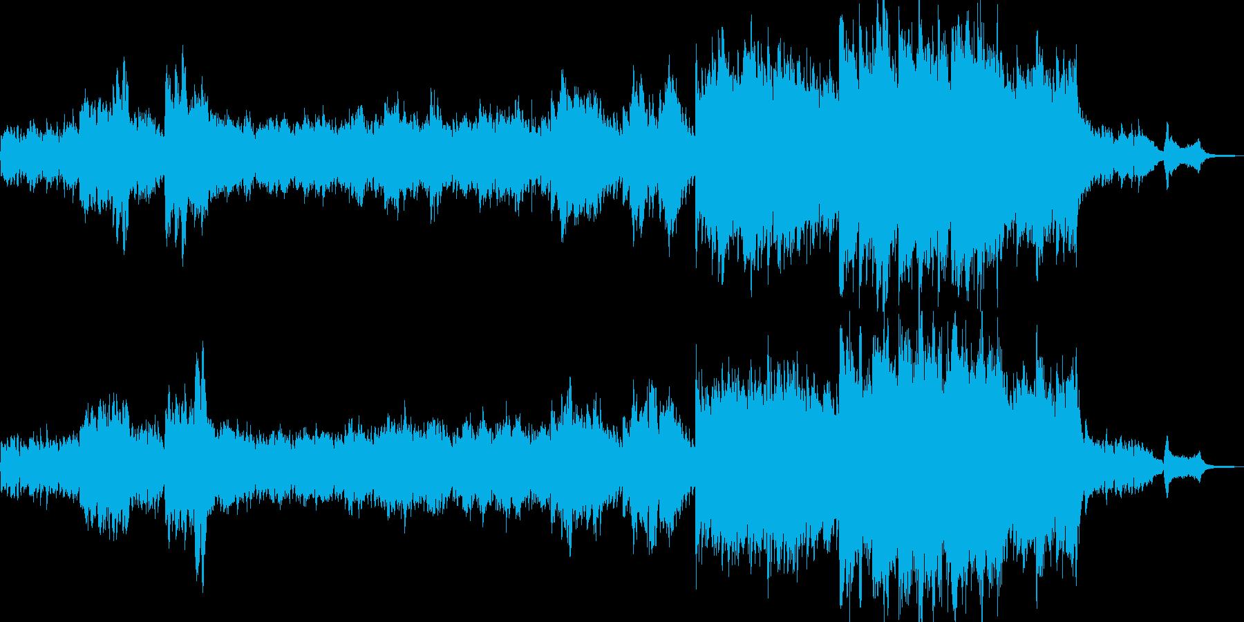 神秘の森をイメージしたヒーリング Dの再生済みの波形