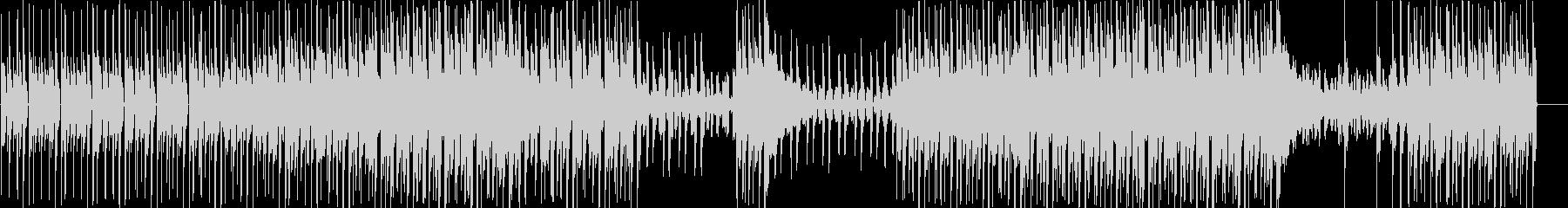 ダークでかっこいいエレクトロの未再生の波形